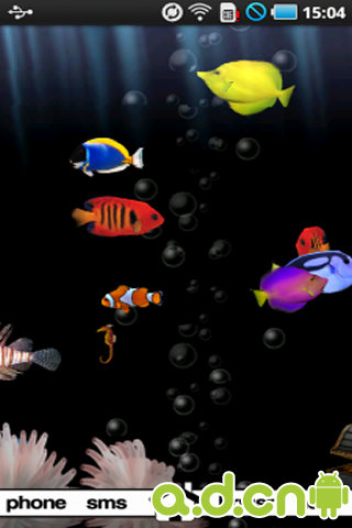 3D海底世界动态壁纸完整版 2.55_3D海底世界