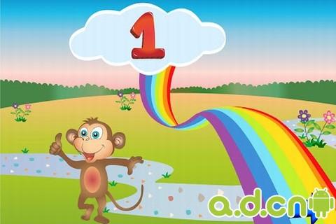 教学游戏 Kids Count Numbers Game Math