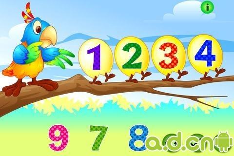 玩免費益智APP|下載教学游戏 Kids Count Numbers Game (Math) app不用錢|硬是要APP