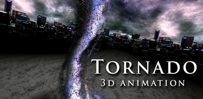 《3D龙卷风动态壁纸 Tornado 3D Animation》是一款极具视觉效果的3D动态壁纸,各种颜色自定义的龙卷风在手机屏幕上呼啸而过,画面十分的华丽,同时也内置了很多可以修改龙卷风的参数,例如风速,颜色,方向等。