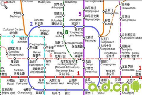 中国地铁路线图