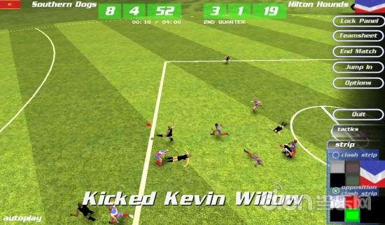 澳式足球 MegaFooty Quick Kick