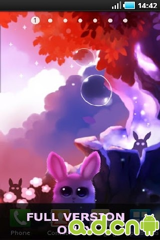 兔子森林动态壁纸_截图