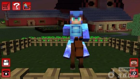 當個創世神:賽馬Horse Craft Minecraft Runner v1.0.2-Android益智休闲類遊戲下載