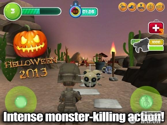 玩具巡邏射手3D;萬聖節修改版(含數據包) Toy Patrol Shooter 3d Hellowen v1.0-Android射击游戏類遊戲下載