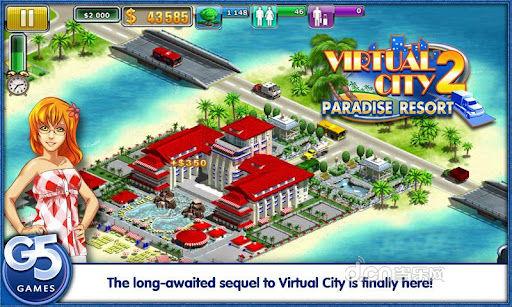 虚拟城市2:天堂度假村完整版(含数据包)截图