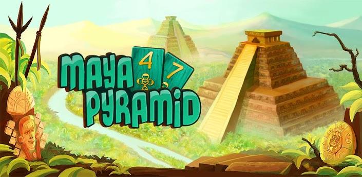 以玛雅金字塔探险为背景的纸牌消除类游戏